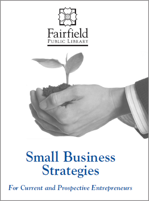 Cover of Small business strategies brochure