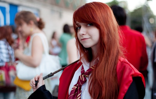 Ginny Weasley cos-play - image via Anton Vavilov vimba.ru on Flickr