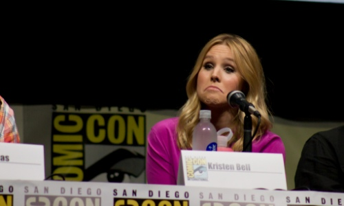 Kristen Bell at San Diego Comic Con - Image courtesy vagueonthehow via Flickr