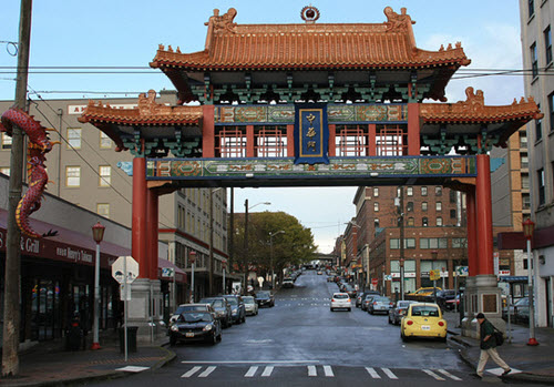 Chinatown Gate in Seattle, IMG_1245 via Dennis Tsang on Flickr