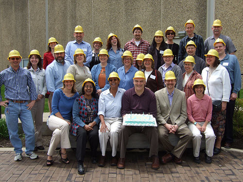 WebJunction staff and state libraries celebrate construction of a new web platform in 2008