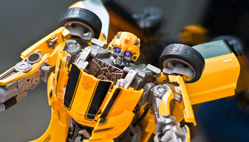 Transformers Bumblebee via juehuayin on Flickr cc-by-nc-nd-2.0