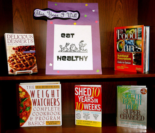 Eat Healthy, image courtesy Lester Public Library on Flickr