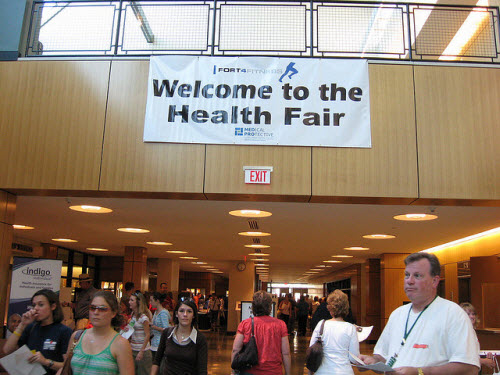 2008 September, Health Fair / Fort4Fitness, image courtesy Allen County (IN) Public Library on Flickr