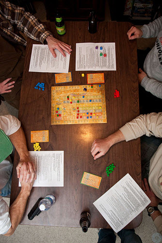 Ra: The Dice Game image courtesy Phil Romans on Flickr