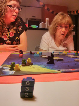 Final Score for the Blue Meeples via deadmanjones on Flickr