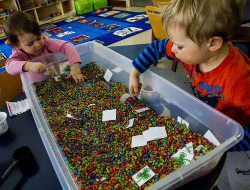 Sensory Table via Lester Public Library on Flickr