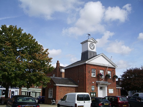 Potton Town Library, image via Smabs Sputzer on Flickr