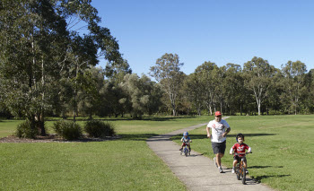 Shared pathway network image via Brisbane City Council on Flickr