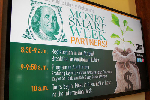 Money Smart Week Kickoff CC image courtesy United Way of Greater St. Louis on Flickr