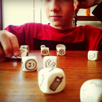 Endless fun and creative catalyzing with Rory's Story Cubes /cc @roryoconnor courtesy Thor Muller on Flickr