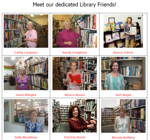 Image courtesy of Friends of the Boca Raton Public Library