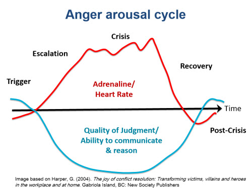 Image of Anger Arousal Cycle from Anna's presentation