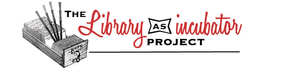 Library as Incubator Project logo
