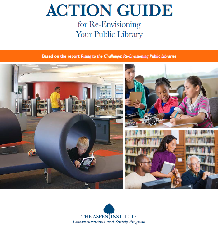 Action Guide for Re-Envisioning Your Public Library cover photo