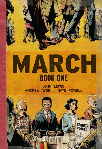 Award-winning March: Part One by Congressman John Lewis, Andrew Aydin and Nate Powell