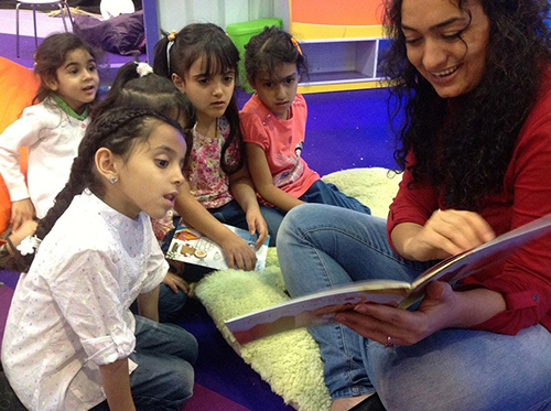 Bringing Libraries, Literacy to Refugee Children in Turkey