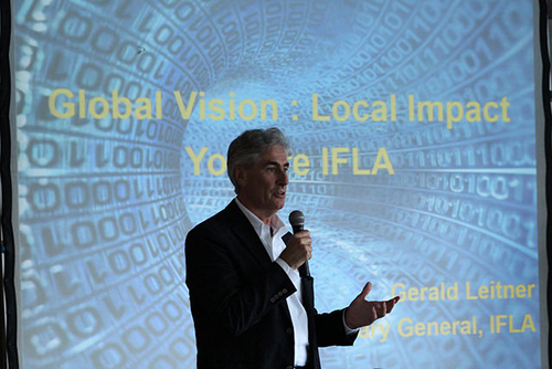 IFLA 2016: Reaching for the Possible