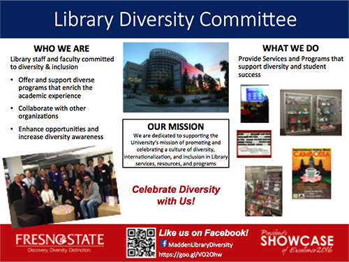 The Library Diversity Committee: Supporting Diversity and Inclusivity in the Academic Community