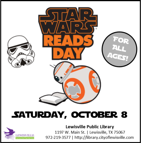 Image courtesy Lewisville Public Library on Facebook