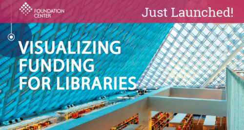 Foundation Center Launches Visualizing Funding for Libraries