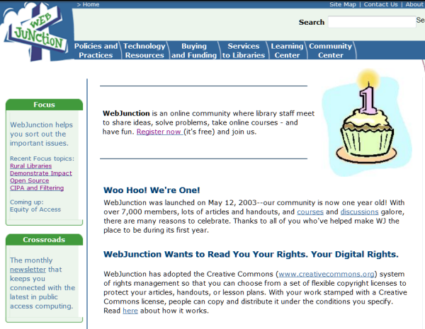 WebJunction Celebrates 15th Anniversary!