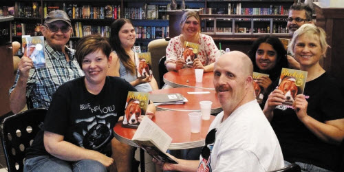Photo of Next Chapter Book Club meeting, used with permission.