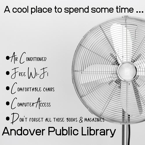 Image courtesy Andover Public Library on Facebook