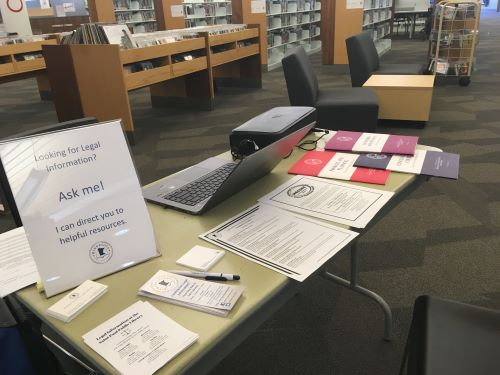 Minnesota State Law Library partners with Saint Paul Public Library to promote access to justice
