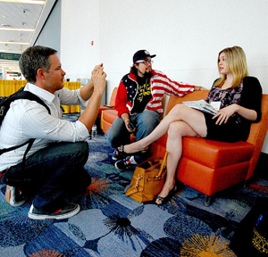 Impromptu interview at ALA 2012