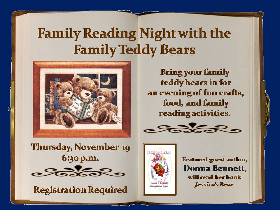 Programming Flyer Examples From Best Small Library In America - Family reading night flyer template