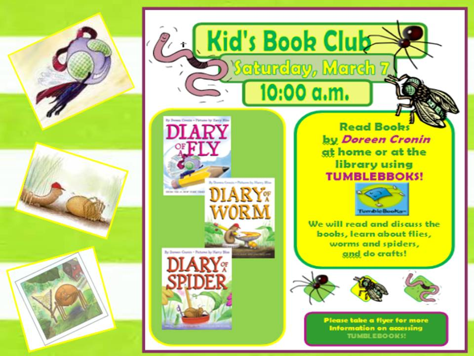 Kids Bookclub  Flyer Examples