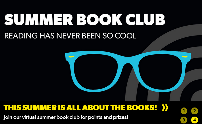Get Schooled Virtual Summer Book Club