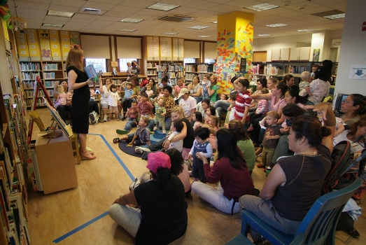 Mission Library Story Hour