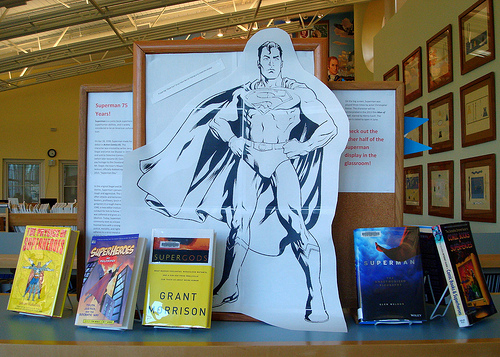 Superman 75 Years via Pesky Librarians on Flickr