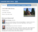 fictional Loremville Library