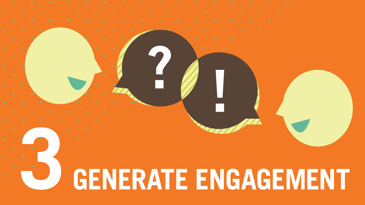 Generate Engagement