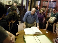 Viewing Special Collections at the Providence Public Library