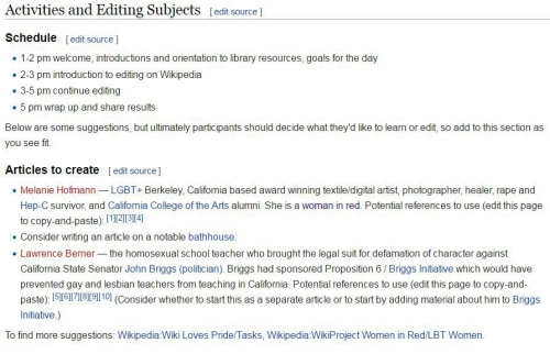 Screenshot of the Wikipedia page