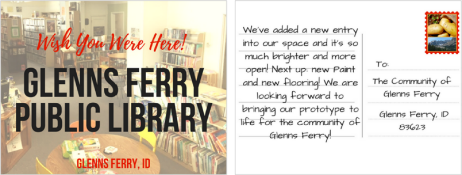 glenns-ferry-public-library-post-card